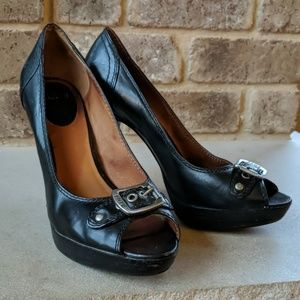 🍁FALLing PRICES! SEXY Frye genuine leather heels!